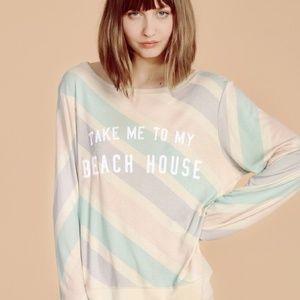Wildfox Take Me To My Beach House sweatshirt